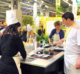 Le 1er FOOD CAMP du Salon de l'Agriculture