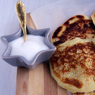 pancake au sucre