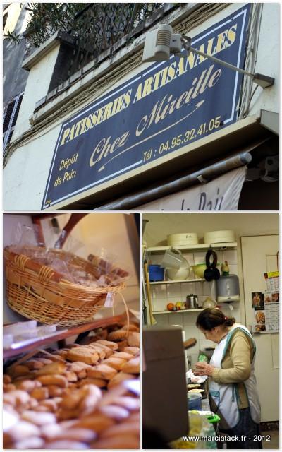 Chez Mireille, biscuitere à Bastia