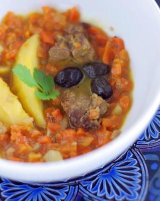 Ragout d'agneau carottes-pommes de terre
