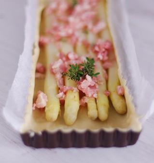 Recette facile de tarte aux asperges