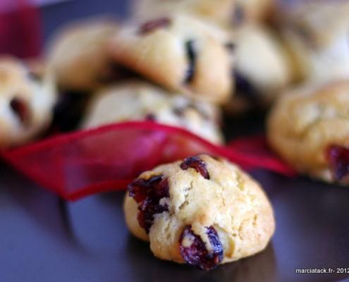 cookies-cranberries