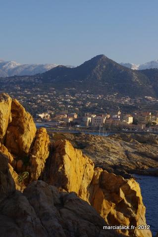 L'île Rousse, Corse