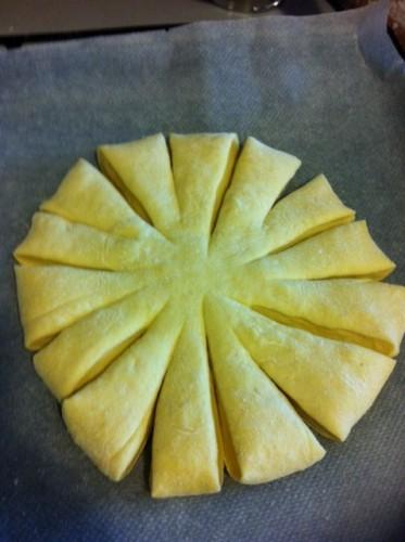 Faconnage du pain fleur