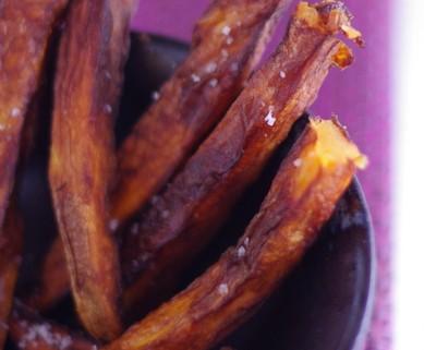 Recette de frites de patates douces
