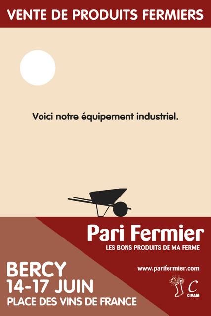 Le Pari fermier s'installe à Bercy