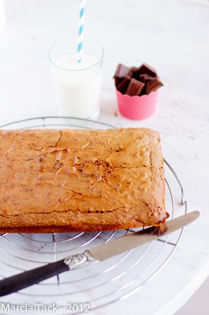 Brownies chocolat-caramel