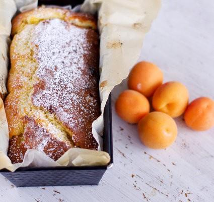 Recette du gâteau aux abricots