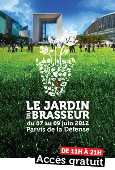 Le Jardin du Brasseur s'installe à la Défense