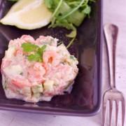 Recette facile de tartare de saumon