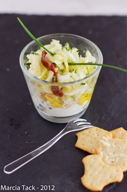 Recette de courgettes crues en salade