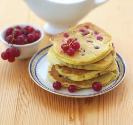 recette de pancakes groseilles