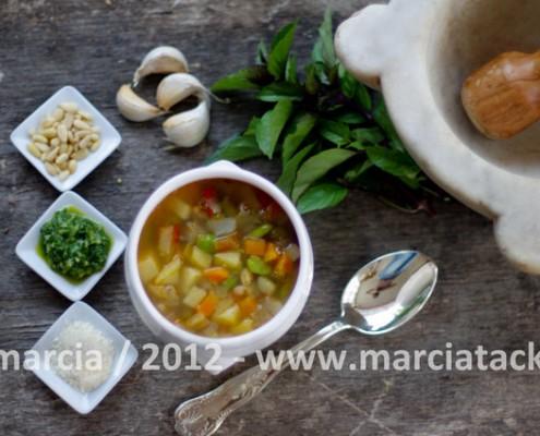 Recette de la soupe au pistou la soupe de provence