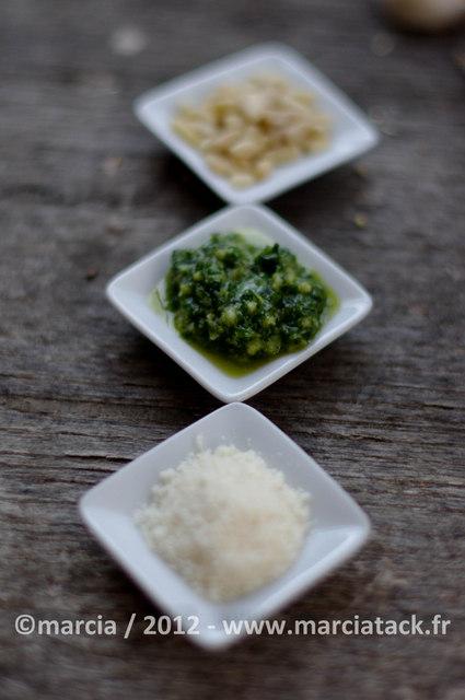 pistou pour la soupe provençale