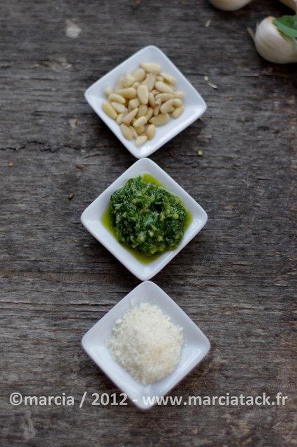recette de pesto de basilic