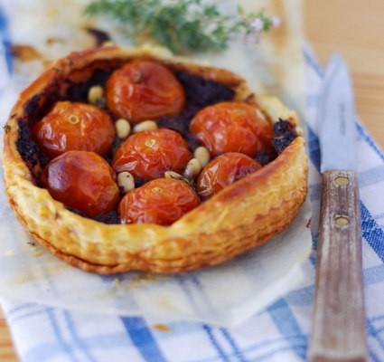 Recette facile de tartes à la tomate