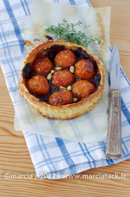tartelette-tomates-cerises-tapenade