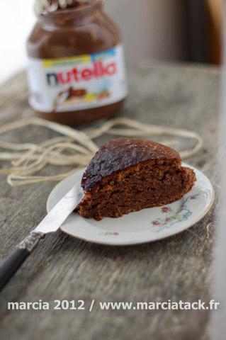 Gâteau au nutella, sans oeuf