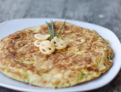 Recette facile d'omelette ou tortilla au chips