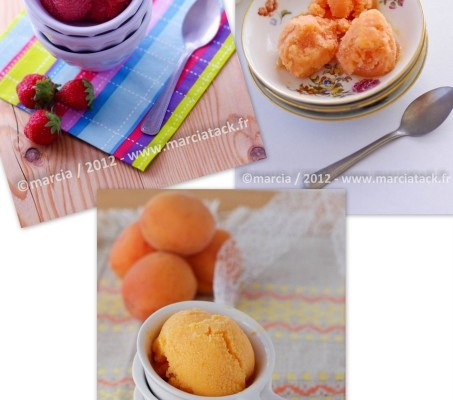 recettes glaces et sorbets maison