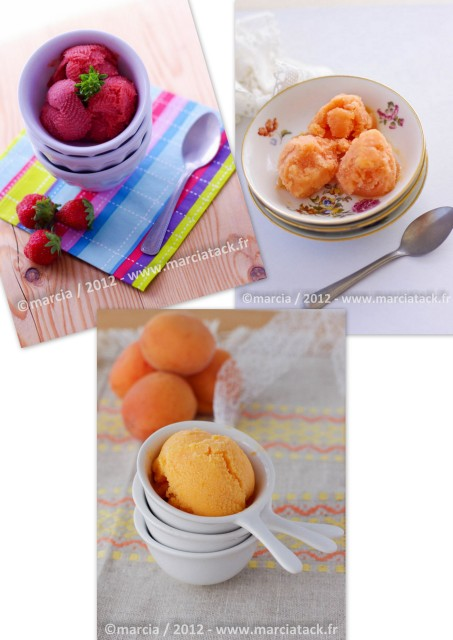 glaces et sorbets maison