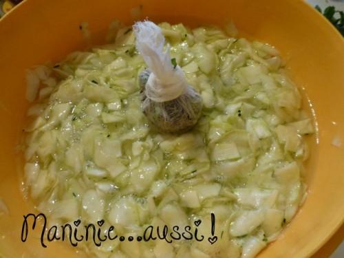 Confiture de courgettes lavande
