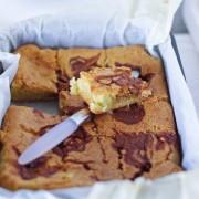 recette blondies au caramel beurre salé