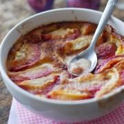 recette clafoutis de prunes rouges comme ma grand-mère