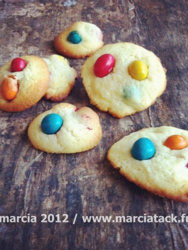 Recette de cookies aux M&M's