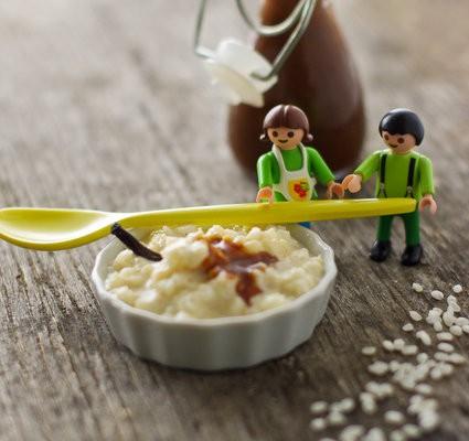riz au lait inratable au caramel au beurre salé maison
