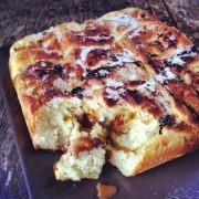 recette de la brioche au caramel et noix de cajoux
