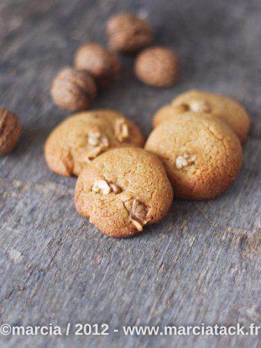 recette de cookies miel et noix sans oeuf