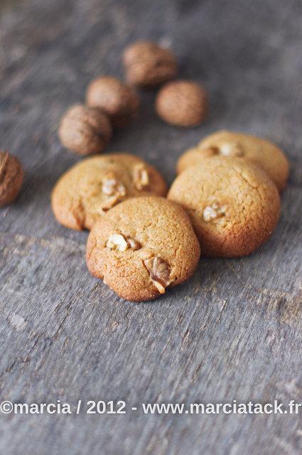cookies miel et noix sans oeuf