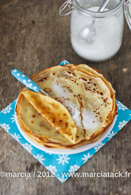 Crepes sans oeuf