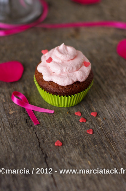 Topping mascarpone pour cupcakes