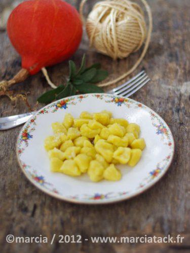recette de gnocchis de potimarron
