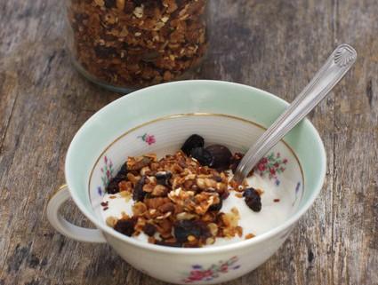 recette pour faire ses céréales granola maison