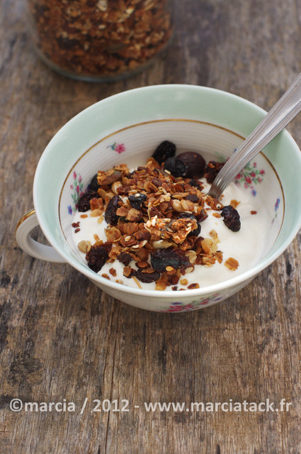 comment faire son granola maison?