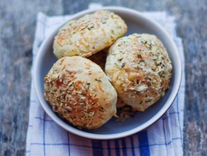 recette des petits pains au comté et céréales