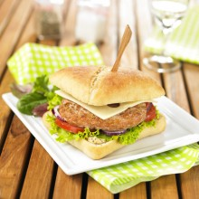 Burger de veau Classic Tendriade - Crédit photo - Apoint Studio