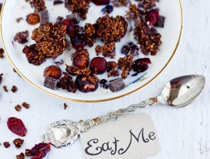 recette du granola (muesli) maison au chocolat
