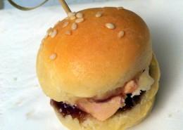 recette des mini burgers au foie gras