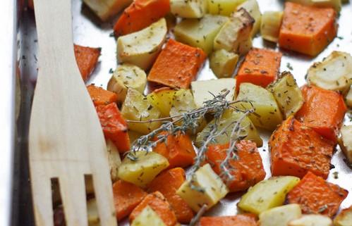 Recette des légumes cuits au four