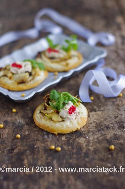 Pizettes blanches fenouil et thon saint môret