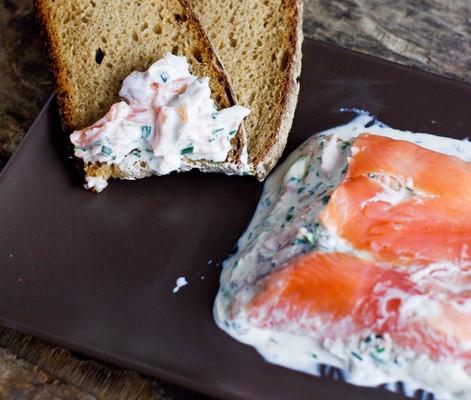 recette de terrine aux deux saumons et au fromage