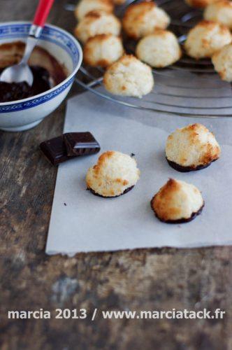 rochers noix de coco au chocolat