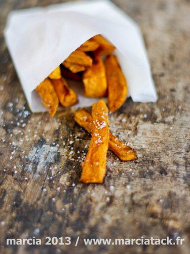 Comment faire des frites de patates douces