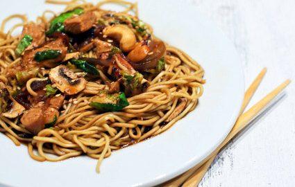 recette nouille à la chinoise