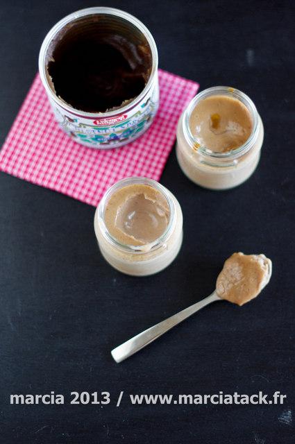 Petits pots à la crème de marron façon MaronSui's