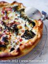 recette de la quiche lardons et brocolis